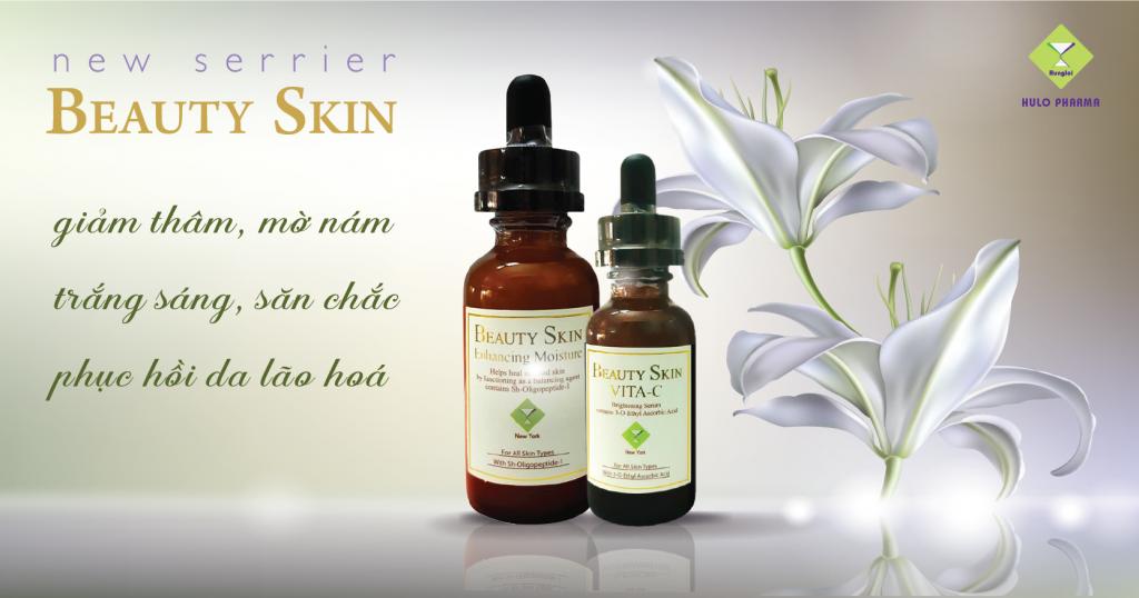 Serum dầu dưỡng da phục hổi Beauty Skin - USA Mỹ
